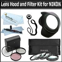52mm高解像度3個フィルタセットUV、蛍光灯、光板フィルターセットは+ 1+ 2+ 4+ 10クローズアップ+ 4個+レンズフード+ More For The Nikon d5200d5300d3300d3100d5100d800d3200DSLR RHAT使用これらの任意の( 18–55mm , 55–200mm , 50mm Nikonレンズ