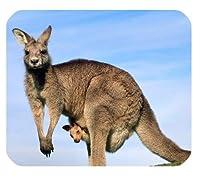 オーストラリアの動物カンガルーアートカスタマイズされた耐久性のある家庭とオフィスのマウスパッド