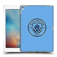 オフィシャルManchester City Man City FC ブルー オブシディアン モノクロ バッジ iPad Pro 9.7 (2016) 専用ハードバックケース