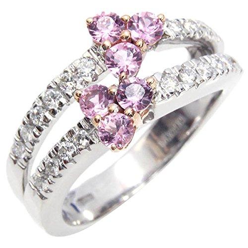 (ダミアーニ)DAMIANI リング ダイヤ ピンクサファイヤ WG PG 約10号 中古 指輪 DAMIANI [並行輸入品]