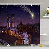 浴室用シャワーカーテンEs Jesus 180X180 CM