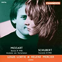Mozart: Sonata K 448 / Schubert: Fantasie D. 940 (1994-07-26)