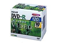 maxell 録画用 DVD-R 120分 1-4倍速対応10枚 DR120.1P10S