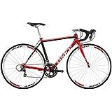 TRIACE(トライエース) S130-2015 700x23C ロードバイク 約9.9kg デュアルコントロール16SPEED レッド/ブラック
