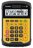 カシオ 防水・防塵電卓 ミニジャストタイプ WM-320MT-N 12桁