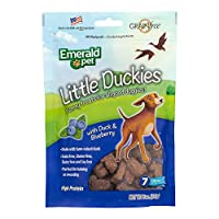 Smart n' Tasty Little Duckies with Blueberries Grain Free Dog Treats, 5-Ounce by Smart n' Tasty