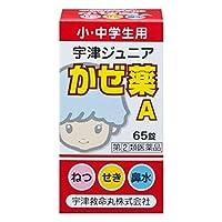 【指定第2類医薬品】宇津ジュニアかぜ薬A 65錠
