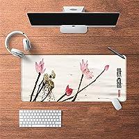 LL-COEUR 古代のスタイル オリエンタル 紫禁城 大型マウスパッド キーボード ゲーミング オフィス テーブルマット が良い 滑り止めゴム底(39)