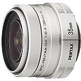 PENTAX 標準単焦点レンズ DA35mmF2.4AL シルバー Kマウント APS-Cサイズ 21998