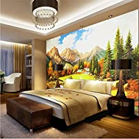Mingld カスタム写真壁画壁紙3D風景油絵フレスコ画自然壁紙リビングルームの寝室の背景壁の家の装飾3 D-350X250Cm