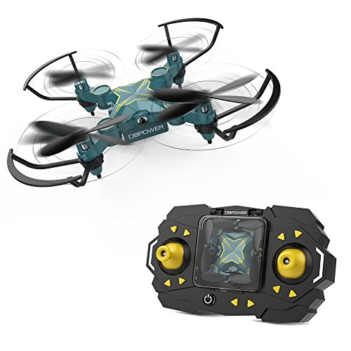 DBPOWER ドローン ミニドローン 室内遊ぼう可能 ラジコン ヘリコプター 高度維持 子供 初心...
