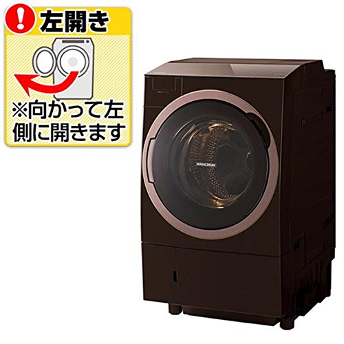 東芝 ドラム式洗濯乾燥機(ヒートポンプタイプ) 左開きタイプ ...