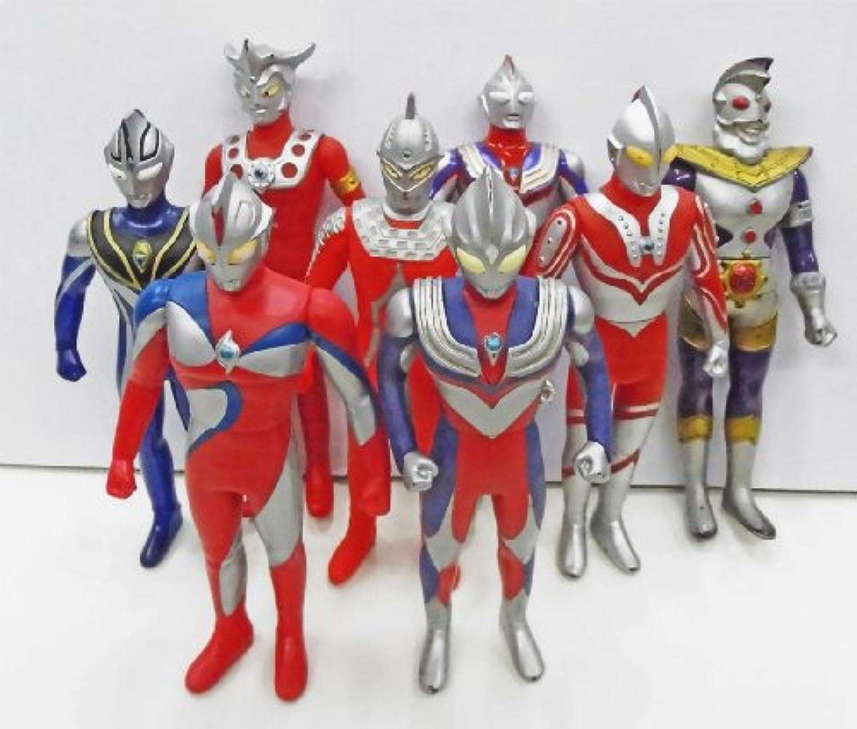 円谷 ウルトラマンシリーズ ソフビ 8体セット (1988~2001年)