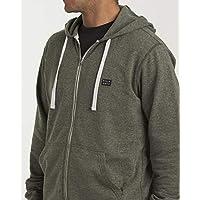 BILLABONG Mens M660VBAZ All Day Zip Hoodie Sweatshirt