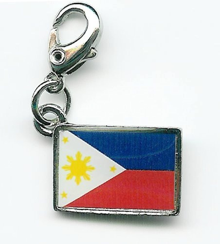 NATIONALFLAG 国旗柄ファスナーホルダー フィリピン共和国 07103-1