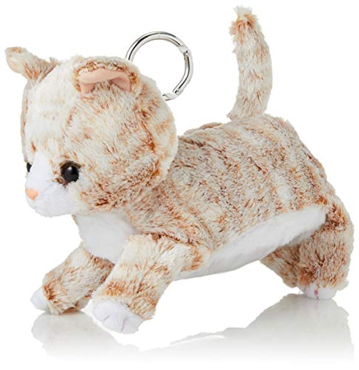 とても多くの難民ホラー[ポンポンルージュ] 可愛い子ねこと豆柴がタッチする、ぬいぐるみリールパス 定期入れ パスケース 犬 猫 71360