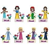 積み木おもちゃ、プリンセス、子供へのプレゼントに一番ふさわしく、とても安全、高さは5センチ、子供へのプレゼント