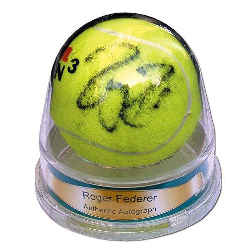[해외]ACE AUTHENTIC (에이스 정통) 로저 페더러 친필 사인 볼 AC-RFSTB/ACE AUTHENTIC (Ace Authentic) Roger Federer autograph signature AC-RFSTB