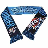 Oklahoma City Thunder FC Navy Reversible Split Logoアクリルニット冬スカーフ