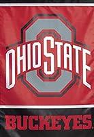 The Ohio State Buckeyes OSU Garden Flag 12.5X 18インチ2Sided