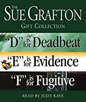 "Sue Grafton DEF Gift Collection: ""D"" Is for Deadbeat, ""E"" Is for Evidence, ""F"" Is for Fugitive (A Kinsey Millhone Novel)"
