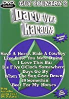 Party Tyme Karaoke: Guy Country 2 [DVD] [Import]