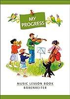 My Progress - Music Lesson Book - Aufgabenheft Mit Stickerbogen / マイ・プログレス 音楽レッスンブック シール付き練習帳