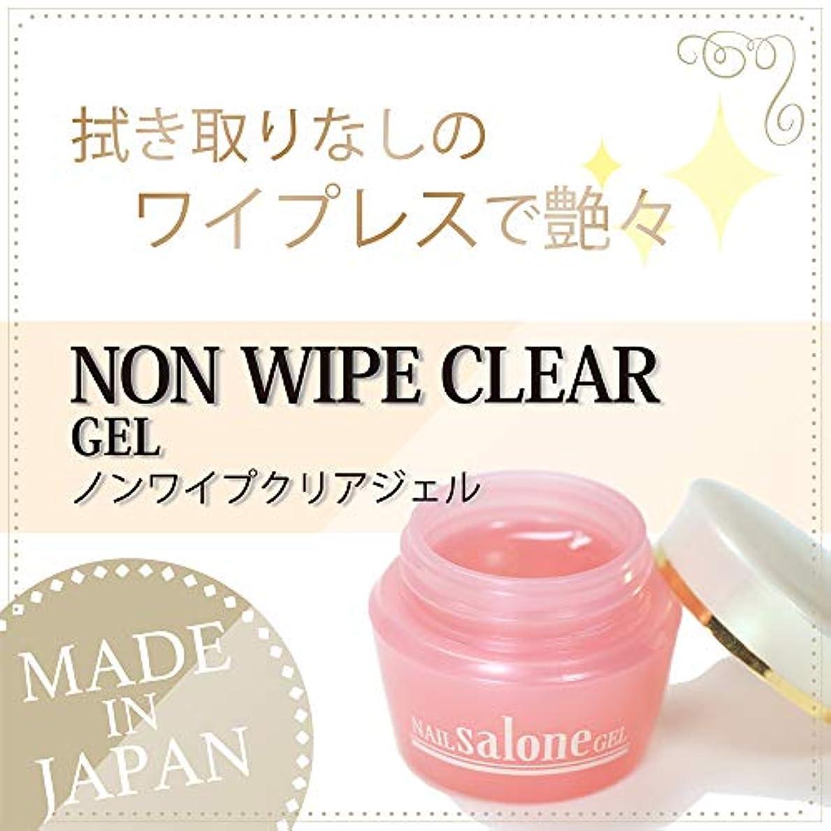 ミシン精神的に印象的なSalone gel ノンワイプトップジェル 3g