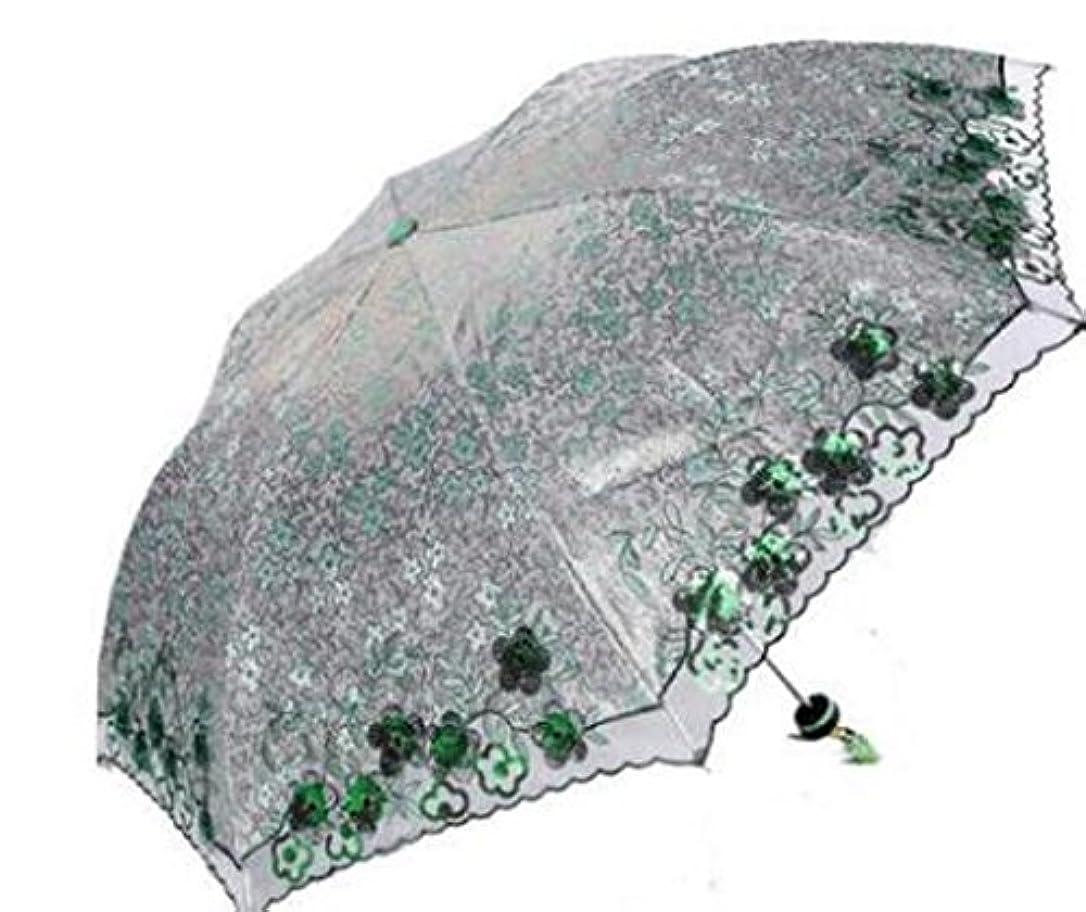 整然とした卵お勧め屋外の観光サンの傘パンジー海の女の子高級超軽量の刺繍花パラソル日傘傘サニーアンブレラ