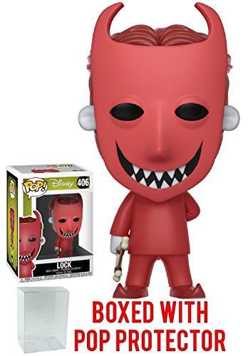 Funko POP 。Disney : The Nightmare Beforeクリスマス–ロックVinyl Figure (バンドルwith Popボックスプロテクターケース)