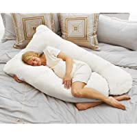 Coolmax Pregnancy Pillow, White by Today's MomR