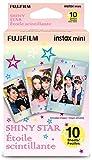 10シートFujifilm Instax Miniフィルム、富士camera-shiny Star