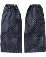 川住製作所 レッグカバー ファスナータイプ ブラック水玉 KW-552B
