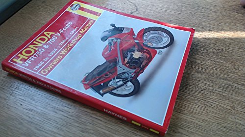 Honda Vfr750 & 700 V-Fours Owners Workshop Manual (HAYNES OWNERS WORKSHOP MANUAL SERIES)