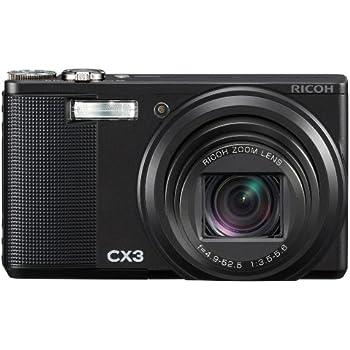 RICOH デジタルカメラ CX3 ブラック CX3BK