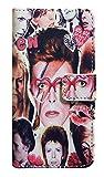 【David Bowie】デヴィット・ボウイ カレッジ iPhone7/ iPhone8ケース カバー ウォレットタイフ? 手帳型 [並行輸入品]