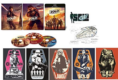 【Amazon.co.jp限定】ハン・ソロ/スター・ウォーズ・ストーリー MovieNEX(初回版)  A4ポスター5枚組、ステッカーシート1枚、ポストカード1枚付き [ブルーレイ+DVD+デジタルコピー+MovieNEXワールド] [Blu-ray]