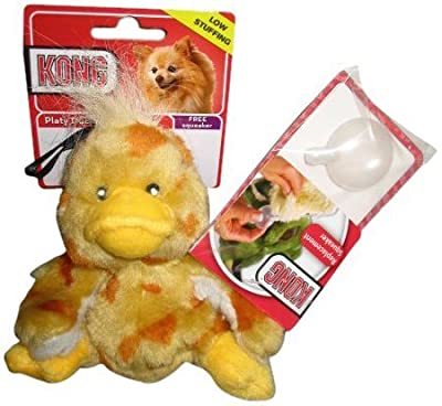 Kong Plush Platy Duck Small Dog Toy