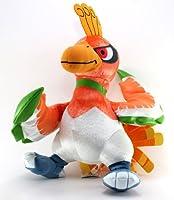 Banpresto Official Diamond and Pearl Banpresto Pokemon Plush Toy - 36cm - Shiny DX Ho-Oh