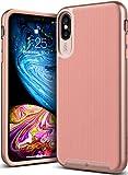 Caseology iPhone XS Max(6.5インチ)用ケース Wavelength Series TPU/PC ミリタリーグレード通過(米国防総省ドロップテスト) CO-A18L-GRL (ピンク)