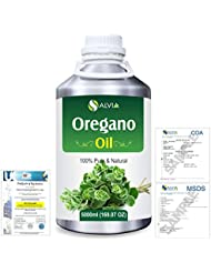 Oregano (Origanum vulgare) 100% Natural Pure Essential Oil 5000ml/169fl.oz.