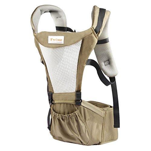 TWONE 抱っこ紐 ベビーキャリア メッシュタイプ  通気性がよい 4way O脚の形成に防止 新生児から使える