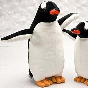 リアルぬいぐるみ ジェンツーペンギン Mサイズ