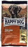ハッピードッグ スプリーム・センシブル トスカーナ (サーモン&ラム) ウェイトケア グルメで敏感な成犬用ドライフード 中〜大型犬用 1kg