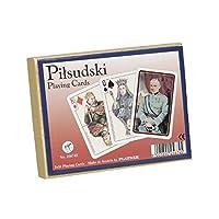 Playing Cards 2 Decks - J. Pilsudski by Piatnik