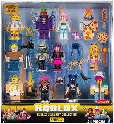 Ace Family Roblox Pictures Code Haggie 125 Roblox Mini Figure With Virtual Game Code Series 2 New