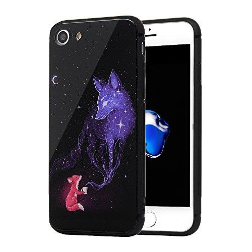 iPhone8 ケース / iPhone7 ケース 背面クリ...