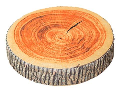 RoomClip商品情報 - インテリア として最適 リアル 樹木 切り株 クッション 丸太 輪切り 座布団 (厚 7cm)