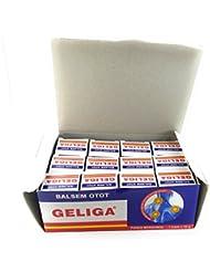 Geliga 繰り返し熱でbalsem otot筋バーム、10グラム/0.35オンス(12パック)