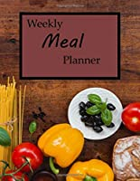 Weekly Meal Planner: 52 Weeks, Shopping Lists, Recipe Pages, 8.5 x 11